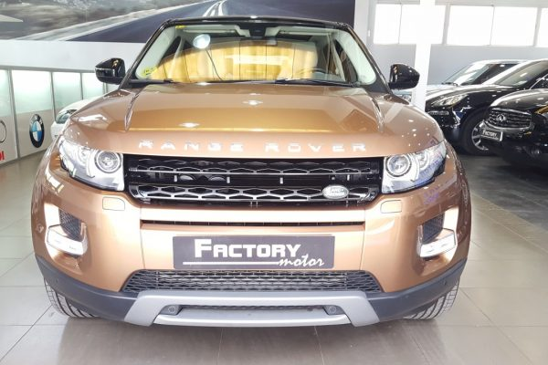 Frontal Land Rover Range Rover Evoque SD4