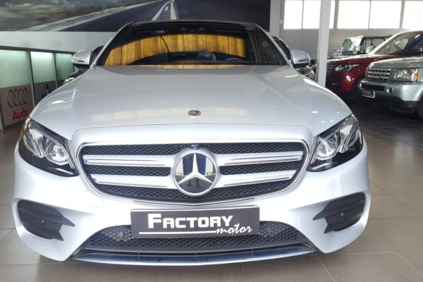 Frontal Mercedes-Benz Clase E 350d