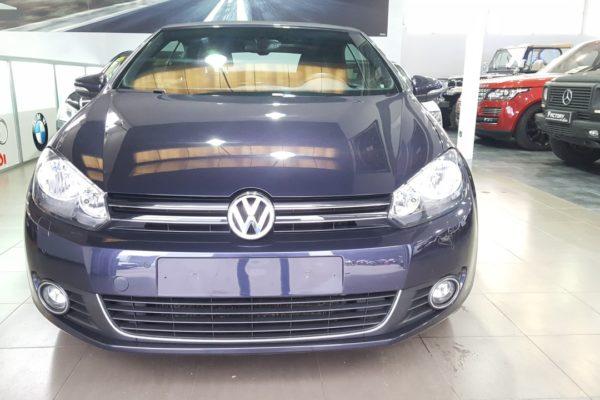 Frontal Volkswagen Golf Cabrio 1.6 TDI