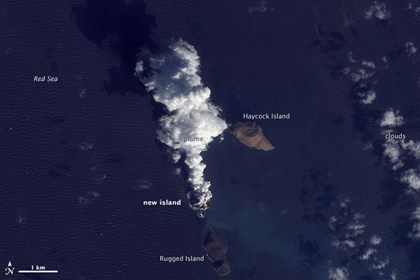 ZUBAIR ISLANDS ON DECEMBER 23, 2011. SOURCE: NASA'S EO-1 – ALI.