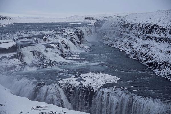 Iceland Golden Glacier