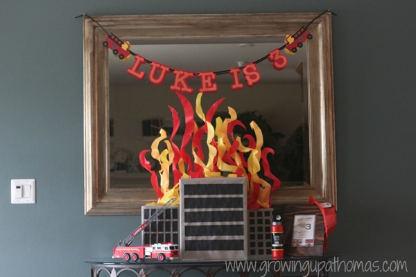 Fireman Party Decorations