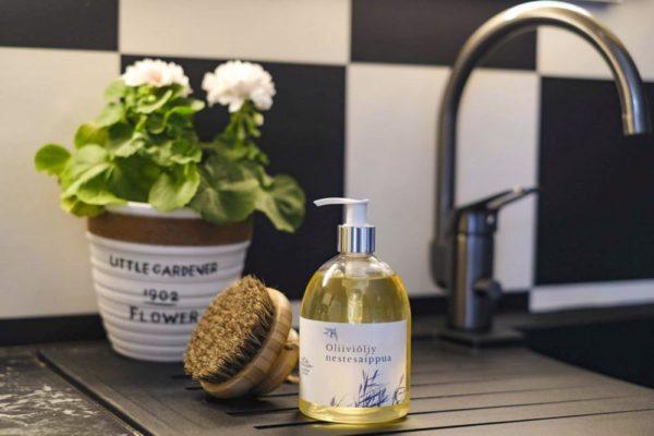 oliiviöljy nestesaippua kastiliansaippua