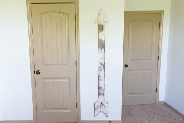 rustic giant arrow growth chart nursery_0005