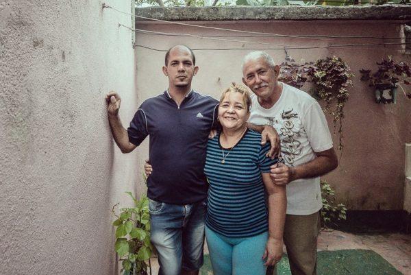 Ramon, Mima and their son - Baracoa, Cuba
