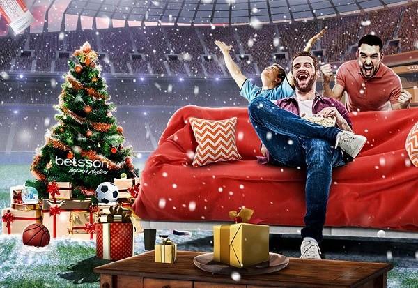 Betsson Casino Advent Calendar - gratis spins, free bonuses, promotions