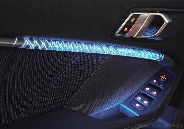 BMW 2 Series Gran Coupe mood lighting