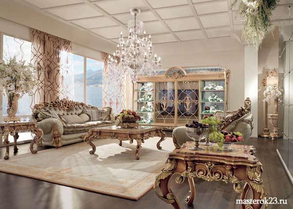 Стиль отделки дома Ампир