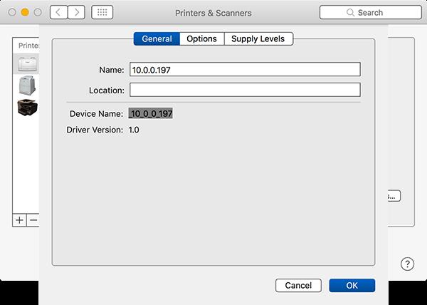 macOS advanced printing options 1