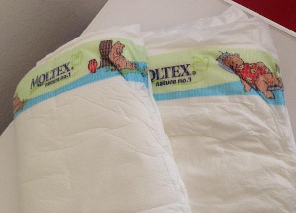 Bébé : on a changé pour les couches Moltex