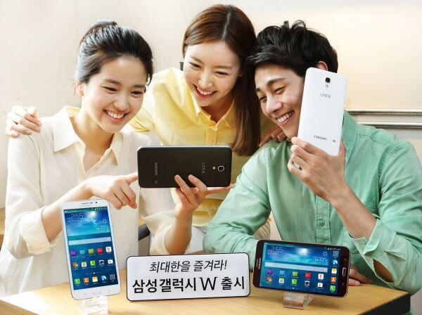 Samsung Galaxy W: 7-Zoll-Smartphone vorgestellt 1