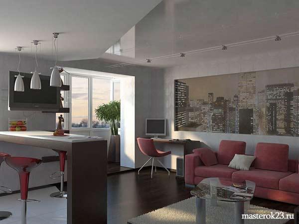 Отделка квартиры в стиле Хай-тек