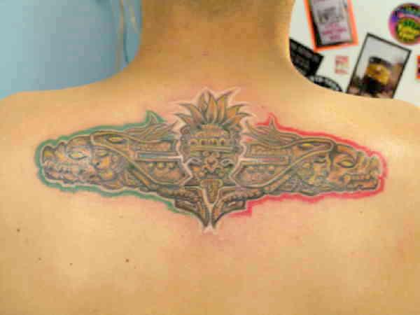 Мексиканские тату ацтеков