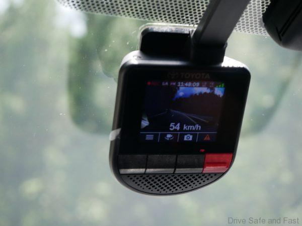 2019 Toyota Corolla Dashcam