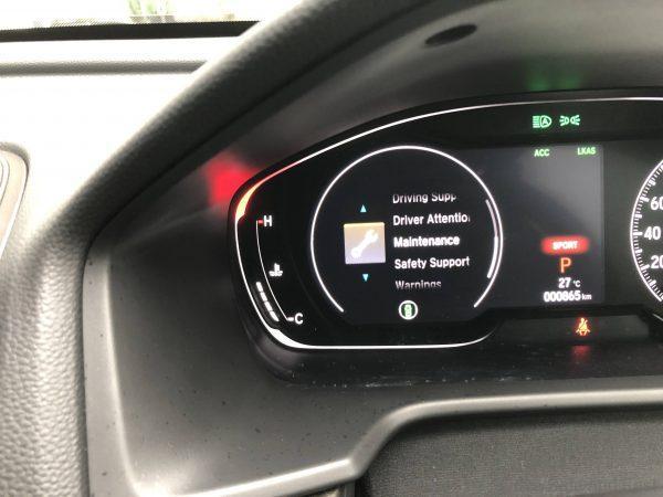 Honda Accord 1.5L Turbo_maintenance