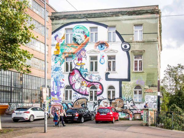 StreetArt Westwerk Leipzig I Top 5 kostenlose Aktivitäten in Leipzig