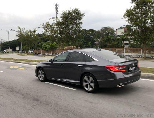 Honda Accord 1.5L Turbo_rear view