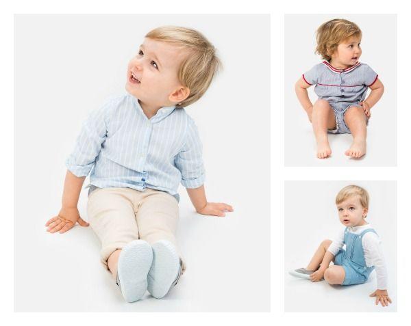 ropa bebé niño primavera verano 2015