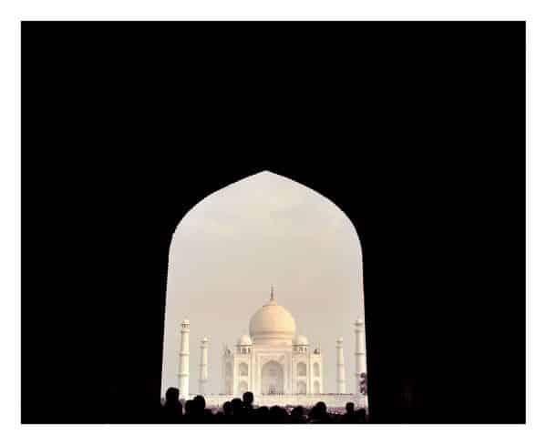 Taj Mahal fine art print, Agra