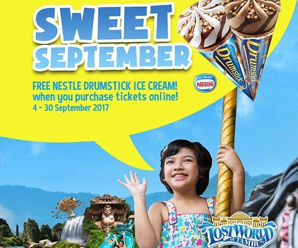 Sweet September Treats @ Lost World of Tambun