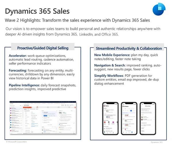 dynamics 365 sales 2020