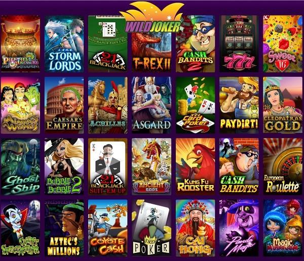 Wild Joker Casino free play games