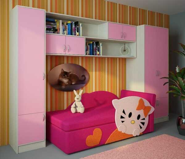Детская мебель шкафы кровать ДМ3
