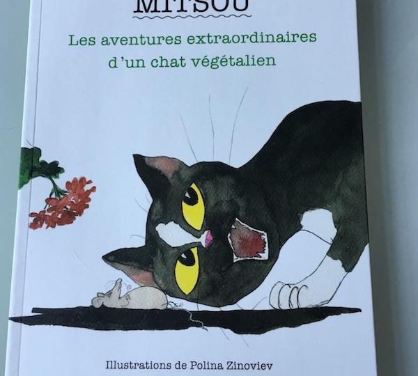 Mitsou le chat végétalien de Crisula Stefanescu