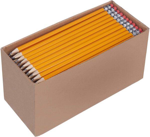 Lápices n.º 2 HB de madera. Pack de 150
