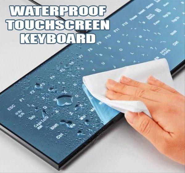 Waterproof Touchscreen Keyboard