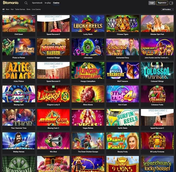 Bito Mania Casino Review
