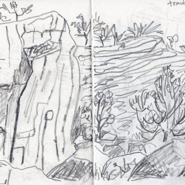 Sketchbook Drawing - Graphite Pencil
