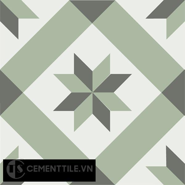 Gạch bông CTS 11.8(3-4-7) - Encaustic cement tile CTS 11.8(3-4-7)