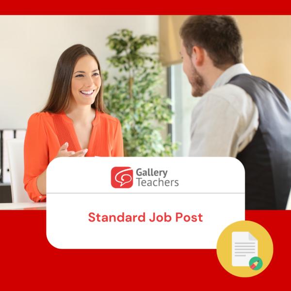 Standard Job Post