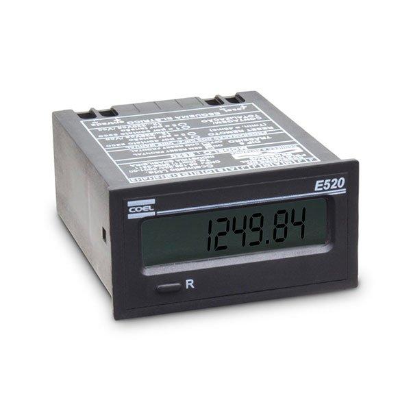 Totalizador de horas - E520/11 - Ent. contato seco