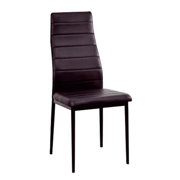 silla salon color negro