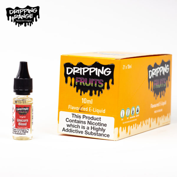 dripping range 10ml unicorn blood flavour
