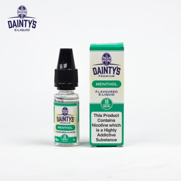Dainty's 10ml Menthol