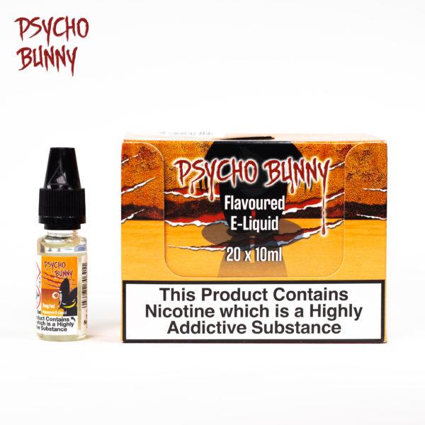 psycho bunny 10ml OJ flavour