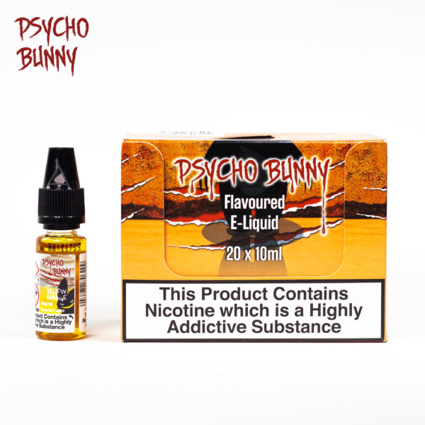 psycho bunny 10ml yellow mirage flavour