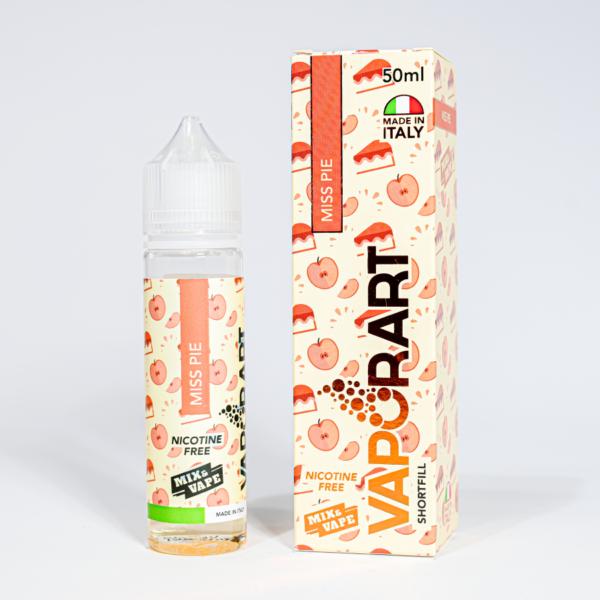 Eco Vape vaporArt range Miss Pie Flavour 40ml Shortfill
