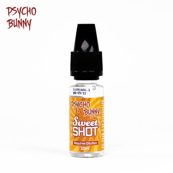 psycho bunny 10ml sweet flavour shot