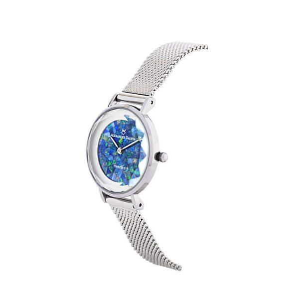 Geometry Treasure Cliff Green Opal Watch - 28mm