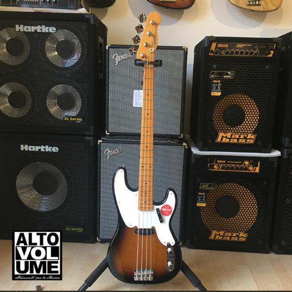 Squier Classic Vibe 50 Precision Bass 2 Tone Sunburst