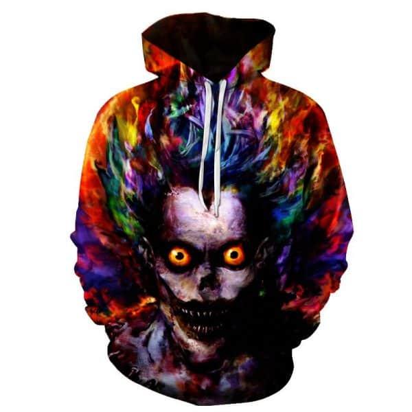 Chill Hoodies Zombie Hoodie Scary Zombies Unisex Adult Sweatshirt