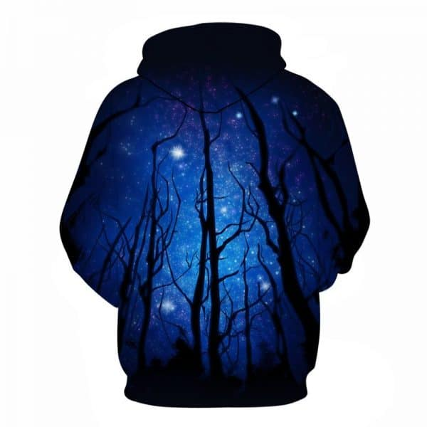 night forest hoodie