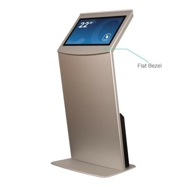Touch Screen Kiosk with Flat Bezel FLEXI Tilt
