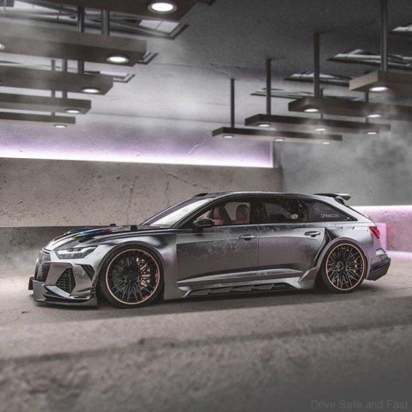 Audi RS6 2 NCS version