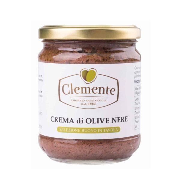 Crema di Olive Nere 190g - Olio Clemente