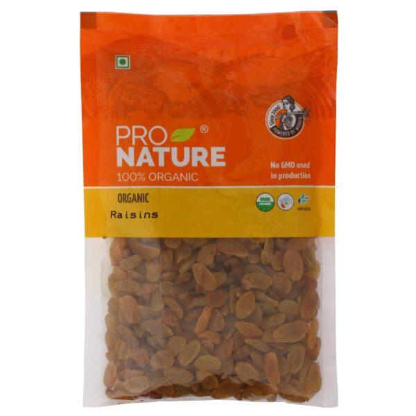 Buy Pro Nature - 100% Organic Raisins - 100g Online